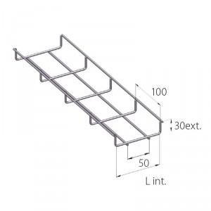 Kit fil borne laiton 25mm²