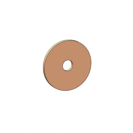 Rondelle bimétal aluminium - cuivre