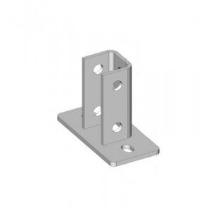 Socle rail de supportage 41
