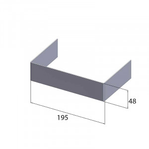 Coude à 90 - 147X24