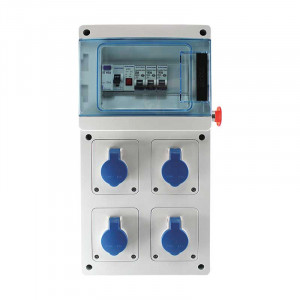 Coffret de chantier IP44-IK07
