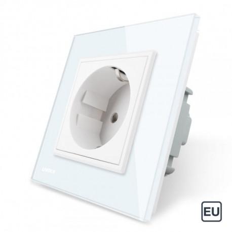 1 Prise de courant EU 16A - Blanc