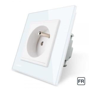 1 Prise de courant FR 16A - Blanc
