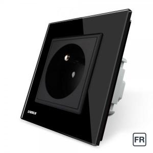 1 Prise de courant FR 16A - Noir