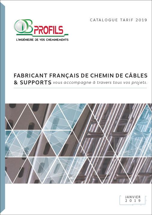 Catalogue chemin de câbles et supportage OB PROFILS 2019