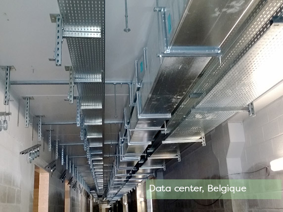 OB Profils fabricant et fournisseur de chemin de câbles électriques en Belgique