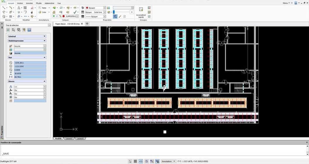 Etude de projets d'installation de cheminement de câbles électriques et supports