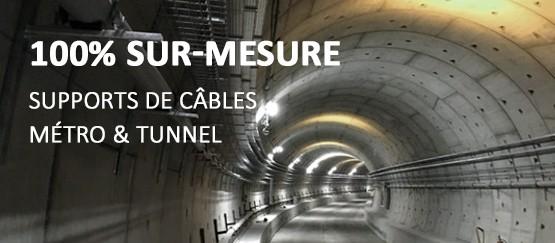 gammes supports de câbles sur-mesure